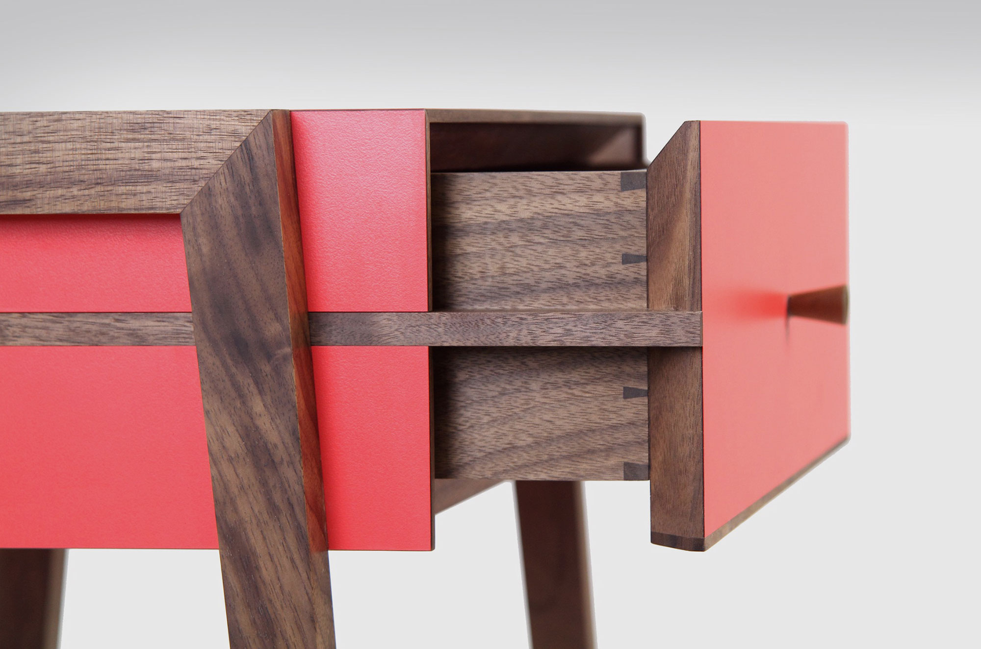 The Young & Norgate furniture collection, designed and made in-house and limited to 100 pieces per design.